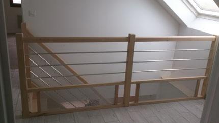 Escaliers contemporains ou traditionnels en bois - Menuiserie Yann ...